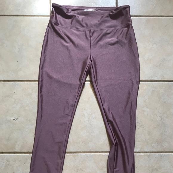 6d97a70d Forever 21 Pants - Forever 21 sparkly lavender leggings